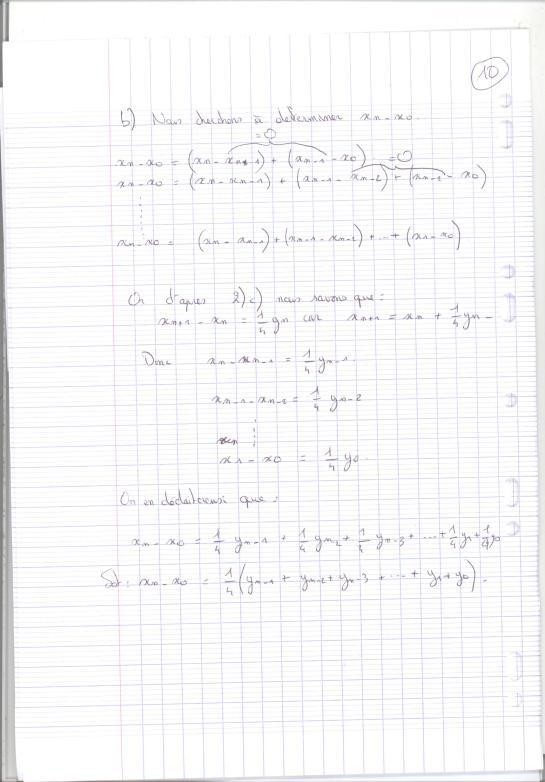 Devoir Maths 10